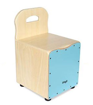 Stagg Kids Cajon with EasyGo Backrest